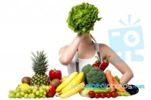 Vegetarián volí místo masa raději zeleninu.