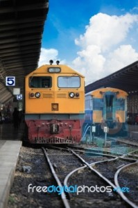 Ilustrační foto - vlak